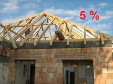 Kedvezményes 5%-os ÁFA a fővállalkozásban épült házakra