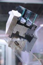 Fa-alumínium ablak keresztmetszete